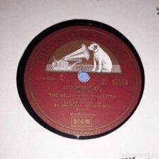 Discos de pizarra: DISCO DE PIZARRA THE MELACHRINO ORCHESTA HIS MASTER'S VOICE LA VOZ DE SU AMO. Lote 220556901