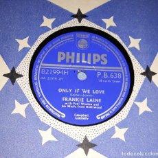 Discos de pizarra: DISCO DE PIZARRA FRANKIE LAINE PHILIPS. Lote 220559140