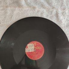 Discos de pizarra: MARINA SALIDA DE JORGE PARTE 1 Y 2. Lote 220928645
