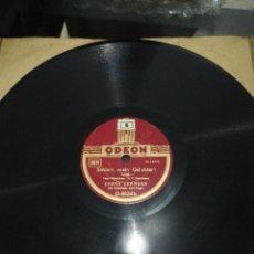 Discos de pizarra: DISCO DE PIZARRA 78RPM-ZARAH LEANDER-NUR NICHT AUS LIEBE WEINEN/SCHLAFE, MEIN GELIEBTER!. Lote 221413736