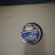 Discos de pizarra: ALBUM 12 DISCOS DE PIZARRA 78RPM-EL FUSILAMIENTO-. Lote 221418096