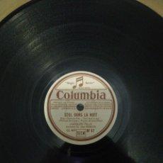 Discos de pizarra: 2 DISCOS DE PIZARRA 78RPM-JACQUES PILLS FRANCIA 1940. Lote 221507511