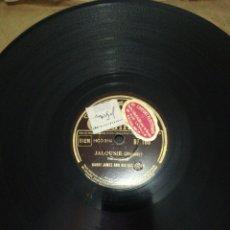 Discos de pizarra: DISCO DE PIZARRA DE 78RPM-HARRY JAMES-YOU'LL NEVER KNOW/JALOUSIE.. Lote 221507991