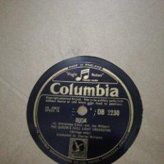 Discos de pizarra: LOTE 5 DISCOS DE PIZARRA 78RPM COLUMBIA. Lote 221508441