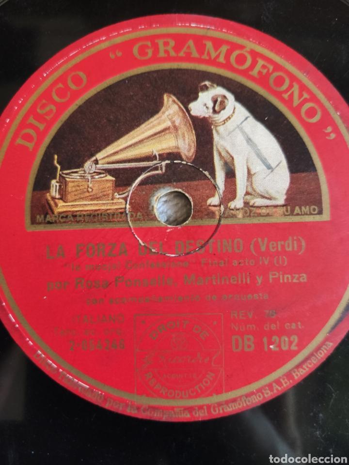 Discos de pizarra: La forza del destino Verdi final acto 4º 1ª y 2ª parte - Foto 3 - 221774690