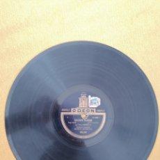 """Discos de pizarra: DISCO ODEÓN AIGUILLE """"LO HAN VISTO CON OTRA"""" Y """"ESCLAVAS BLANCAS"""" BIANCO BACHICHA. 165.240. Lote 222048390"""