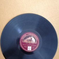 """Discos de pizarra: DISCO """"GRAMOPHONE"""" BABY FEET GO PITTER PATTER"""" Y """"LOVED ONE"""".. Lote 222049346"""