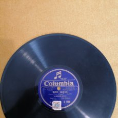 """Discos de pizarra: DISCO COLUMBIA"""" LA TOSCA"""" Y """"MANON-DREAM SONG"""". D1590. Lote 222054310"""