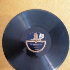 "Discos de pizarra: DISCO ODEON ""LE FOU RIRE"" Y THE BLACKSMITH RAG"".76.006. Lote 222055948"