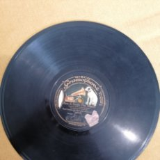 """Discos de pizarra: DISCO GRAMOPHONE """"WALKIRIA"""" . WAGNER. Y """"ECOS DE ESPAÑA"""" (SAN MIGUEL). Lote 222056823"""