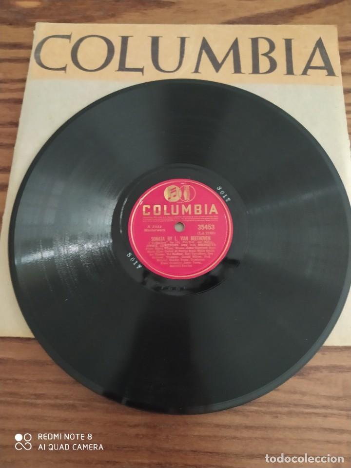 JIMMIE LUNCEFORD, I WANTA HEAR SWING SONGS, SONATA BY L. VAN BEETHOVEN, DISCO DE PIZARRA 78 RPM (Música - Discos - Pizarra - Jazz, Blues, R&B, Soul y Gospel)