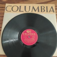 Discos de pizarra: JIMMIE LUNCEFORD, I WANTA HEAR SWING SONGS, SONATA BY L. VAN BEETHOVEN, DISCO DE PIZARRA 78 RPM. Lote 222096140