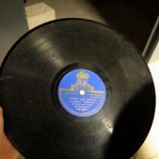 Discos de pizarra: ANTIGUO DISCO LP GRAMÓFONO PIZARRA - VIVA LA JOTA - VIVA EL RUMBO PASODOBLE.. Lote 222113068