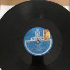 Discos de pizarra: DISCO DE PIZARRA 78RPM-ARNOL FRANK AND HIS ROGERS CAFE-BLACK MARIA/RAIN. Lote 222229105