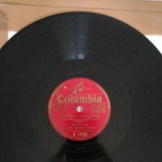 Discos de pizarra: DISCO DE PIZARRA 78RPM-BING CROSBY Y THE ANDREWS SISTERS-LOS TRES CABALLEROS/LA CANTINA DE HOLLYWOOD. Lote 222231716