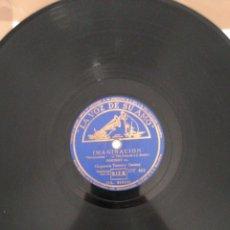 Discos de pizarra: DISCO DE PIZARRA 78RPM-TOMMY DORSEY-IMAGINACION/LA ENCANTADORA FARSANTE. Lote 222232532