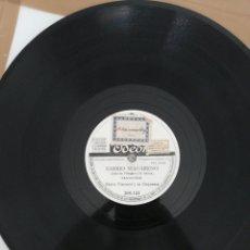 Discos de pizarra: DISCO DE PIZARRA 78RPM-MARIO VISCONTI-BAHIA/BARRIO MACARENO. Lote 222232895