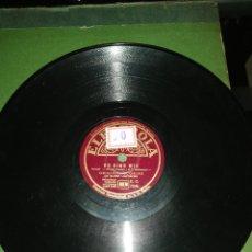 Discos de pizarra: DISCO DE PIZARRA 78RPM-GLORIA LILIENBORN-SCHIFF AHOI/SO SIND WIR. Lote 222253406