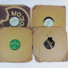 Discos de pizarra: LOTE DE DISCOS DE PIZARRA PARA GRAMOFONO. Lote 222694960