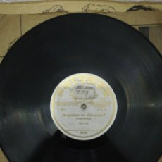 """Discos de pizarra: DISCO R.R.G.( REICHS-RUNDFUNK-GESELLSCHAFT)-""""MORGENFEIER DER HITLERJUGEND"""". Lote 222718503"""