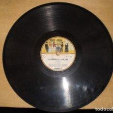Discos de pizarra: COLECCION ODEON LA VERVENA DE LA PALOMA DISCO Nº 5 9 SOLEARES Y 10 NOCTURNO. Lote 223332790