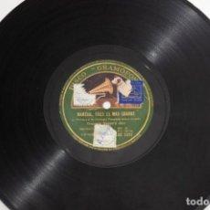 Discos de pizarra: LOTE DE 11 DISCOS PIZARRA. Lote 223469647