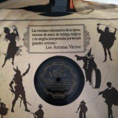 Discos de pizarra: DISCO DE PIZARRA DE 78RPM CARLOS GARDEL-VOLVER/SOL TROPICAL. Lote 223557293