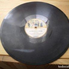 Discos de pizarra: COLECCION ODEON LA VERVENA DE LA PALOMA DISCO Nº 4 7 COPLA DE D. HILARION Y 8 SOLEARES. Lote 223788340