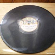 Discos de pizarra: COLECCION ODEON LA VERVENA DE LA PALOMA DISCO 6. Lote 223789106
