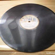 Discos de pizarra: COLECCION ODEON LA VERVENA DE LA PALOMA DISCO 8. Lote 223790136