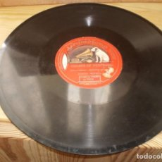 Discos de pizarra: PIZARRA DISCO GRAMOFONO CHORUS OF DERVISHES JASCHA HEIFETZ. Lote 224085392