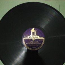 Discos de pizarra: DISCO 78RPM IMPERIO ARGENTINA-SILENCIO/MORUCHA.. Lote 224235810