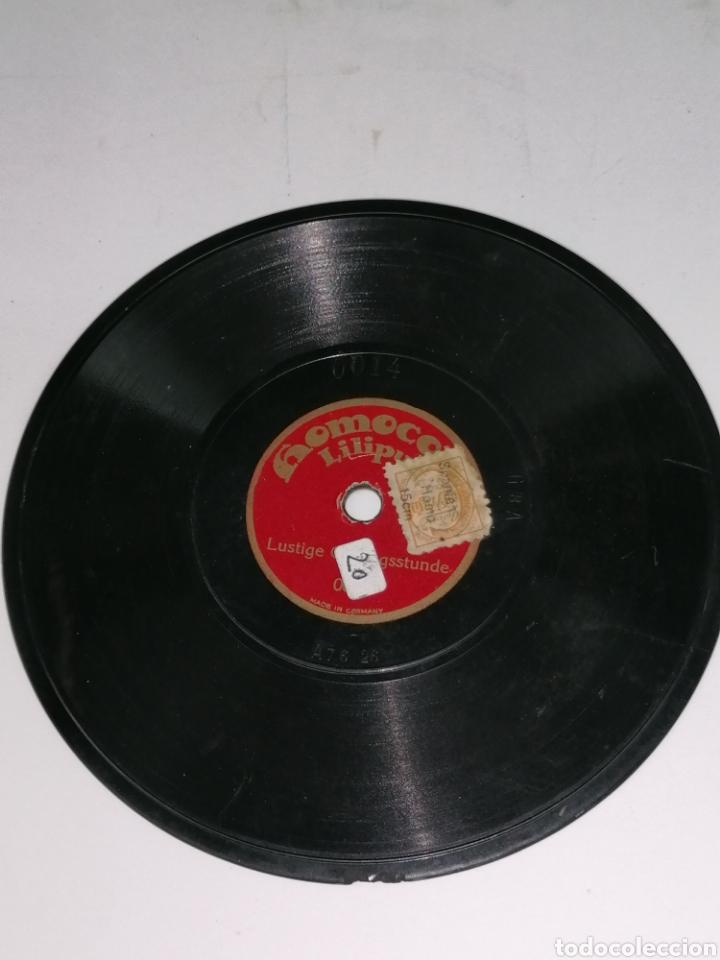 Discos de pizarra: Discos pizarra homocord Liliput lote de dos son pequeños 15cms - Foto 4 - 224312296