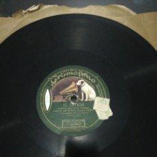 Discos de pizarra: DISCO 78RPM-RAQUEL MELLER-ALLA EN PARIS/EL LATIGO. Lote 224791348