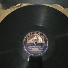 Discos de pizarra: DISCO 78RPM-LUIS MARIANO-VIOLETAS IMPERIALES/. Lote 224791640