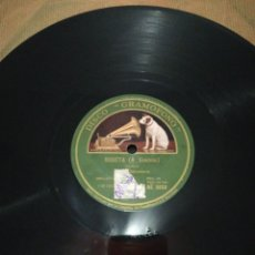 Discos de pizarra: DISCO 78RPM-SARDANA BARCELONA-LA SARDANA DELS BAILETS/ROSETA(A. RIMBAU). Lote 224793192