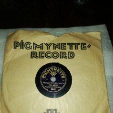 Discos de pizarra: DISCO 78RPM-MORGEN,KINDER,WIRDS/. Lote 224923916