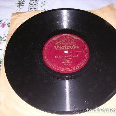 Discos de pizarra: DISCO VICTROLA SONG OF THE CHIMES / BOHEMIAN CRADLE SONG 652. Lote 225180592