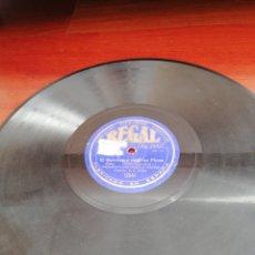 Discos de pizarra: DISCO DE PIZARRA. SELLO REGAL. EL SOMBRERO DE 3 PICOS. MANUEL DE FALLA.. Lote 226558265