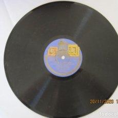 Discos de pizarra: DISCO DE PIZARRA DE LAS LEANDRAS POR CELIA GAMEZ. Lote 228656380