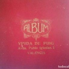 """Discos de pizarra: LOTE DE ALBUM Y DISCOS DE PIZARRA """"VIUDA DE PUIG"""" VALENCIA. Lote 229167065"""