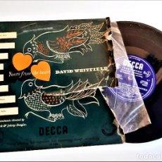 Discos de pizarra: DISCO VINILO DAVID WHITFIELD 33 1/3 RPM. Lote 229754390