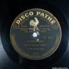 Discos de pizarra: GUERNICACO ARBOLA / AURRESCU. PATHE. PIZARRA. VASCO.. Lote 230598730