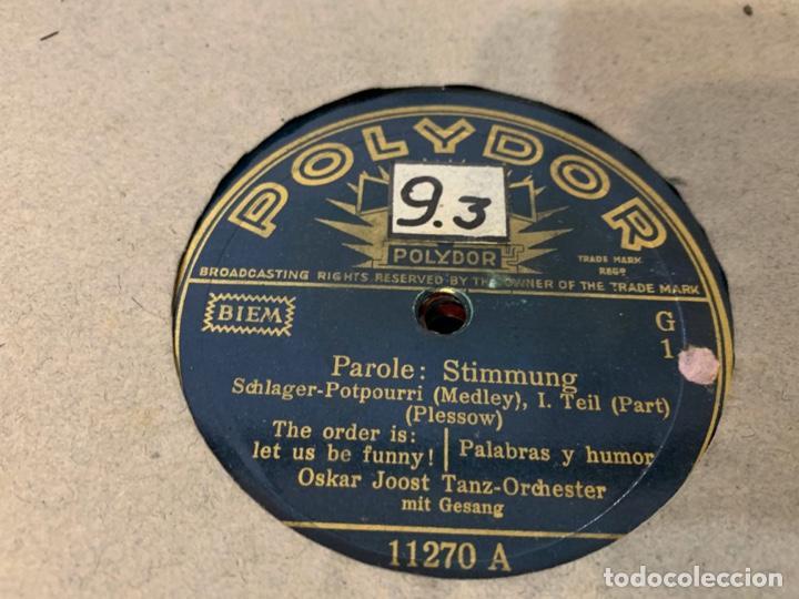 Discos de pizarra: ALBUM CON 12 DISCOS DE GRAMOFONO - Foto 7 - 230844860