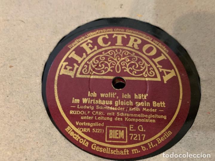 Discos de pizarra: ALBUM CON 12 DISCOS DE GRAMOFONO - Foto 8 - 230844860