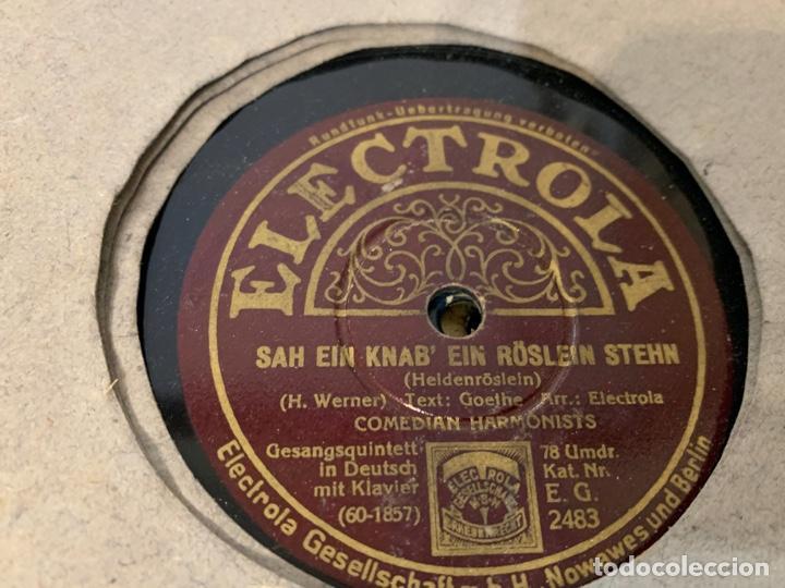 Discos de pizarra: ALBUM CON 12 DISCOS DE GRAMOFONO - Foto 10 - 230844860