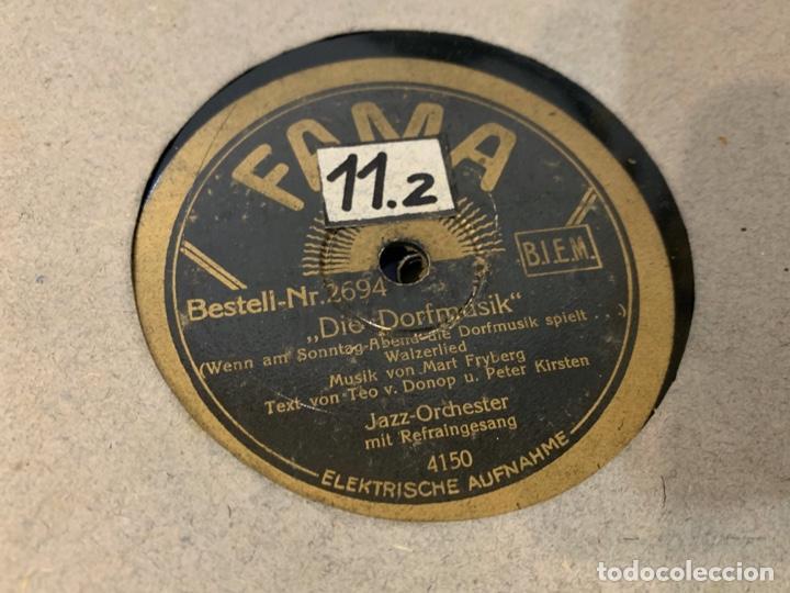 Discos de pizarra: ALBUM CON 12 DISCOS DE GRAMOFONO - Foto 12 - 230844860