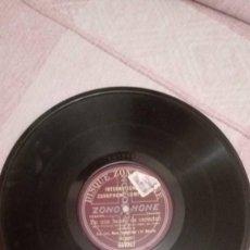 Discos de pizarra: EN UNA FUENTE DE VECINDAD / ENSAYO DE ORQUESTA. DISCO DE PIZARRA 78 RPM.. Lote 230922375