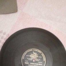 Discos de pizarra: RIGOLETTO - CORTIGIANI VIL RAZZA DANNATA / GUALTEIRO PAGNONI. DISCO DE PIZARRA 78 RPM.. Lote 230927400