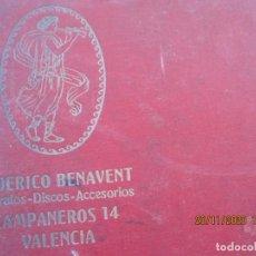 Discos de pizarra: ANTIGUO ALBUM DE DISCOS DE PIZARRA CON 12 DISCOS UNO ESTA ROTO SE VE EN LAS FOTOS. Lote 231197180